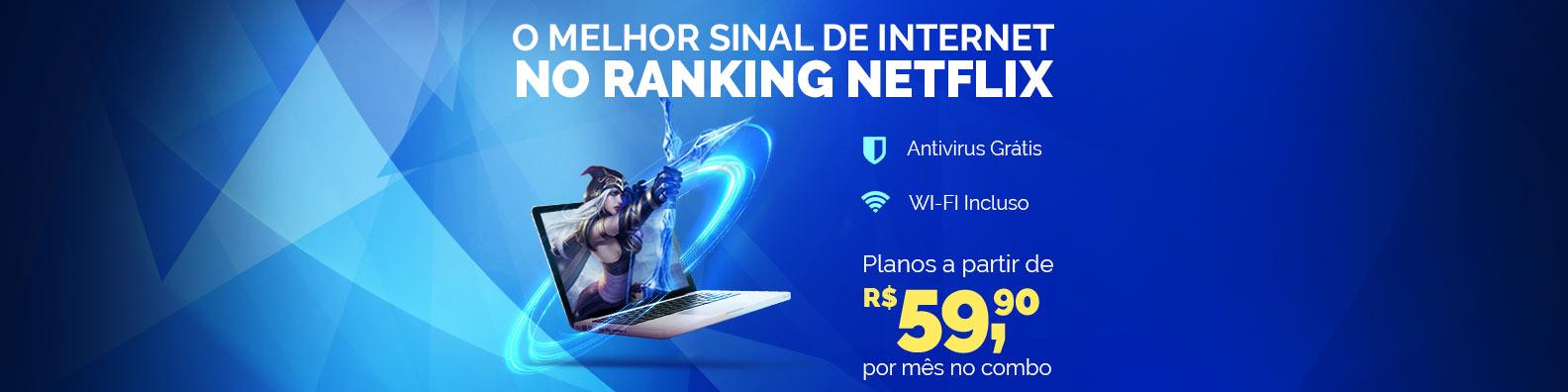 net virtua 35 mega por apenas R$49,00* reais no combo nos seis primeiros meses