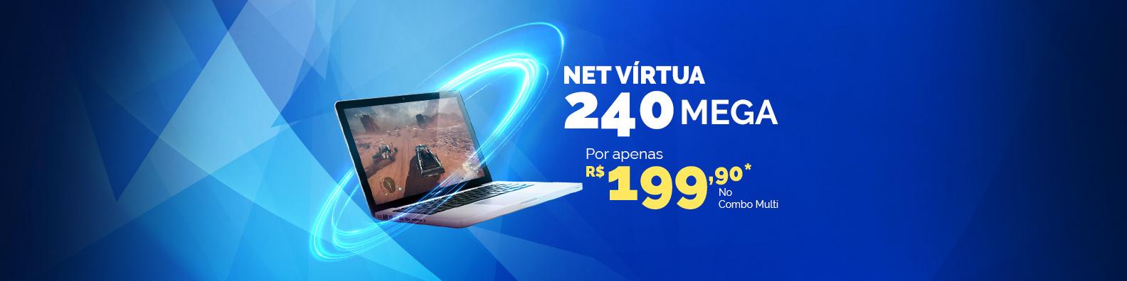 net virtua 15mb e leve mais 35mb pelo mesmo preco por apenas 30 reais no combo