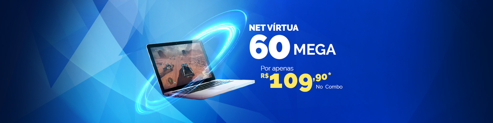 net virtua 5 mega por apenas 69 no combo